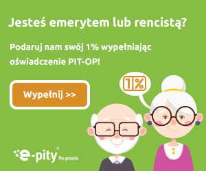 1% podatku PIT-OP przez program fillUp on-line
